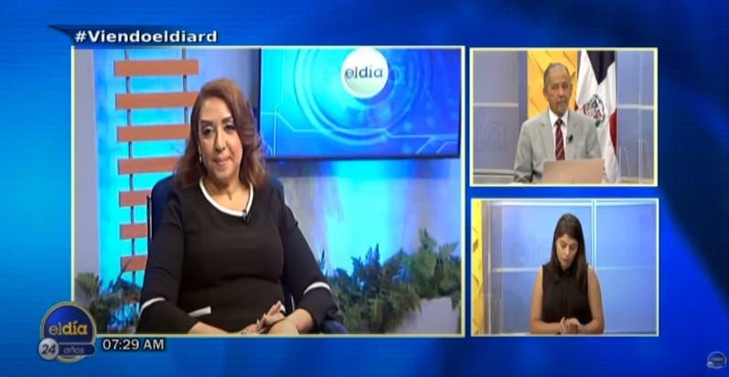 Entrevista a Katia Miguelina Jiménez en el programa El Día