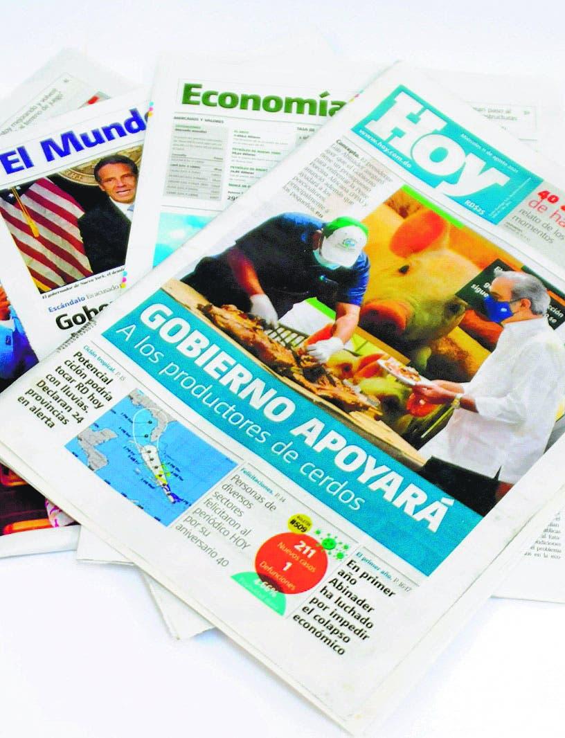 Miriam Germán destaca el rol educativo de la prensa