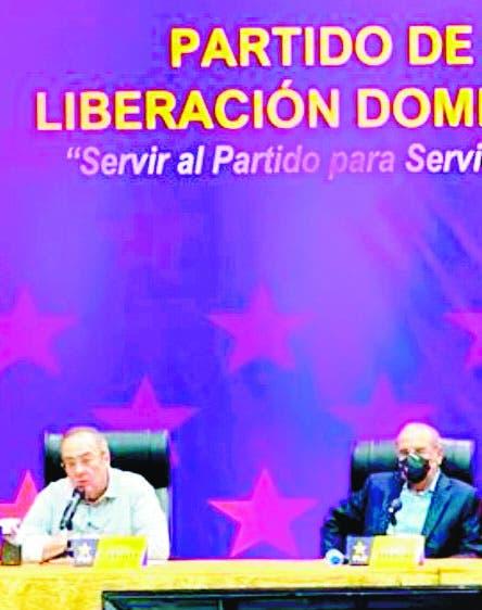 Expresidente Danilo Medina encabeza  reunión  del PLD