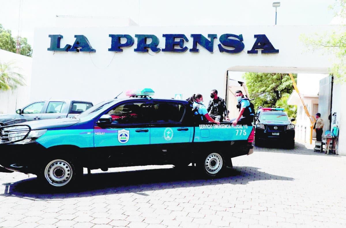 La Policía allana la sede del diario La Prensa Nicaragua