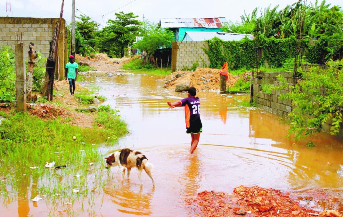 Lluvias de Grace reviven viejos problemas en SDO por inundaciones