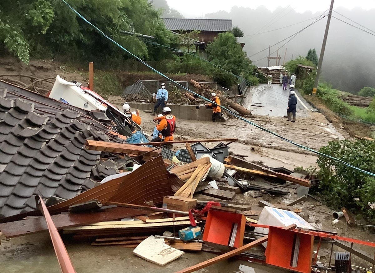 Japón mantiene la alerta de evacuación para medio millón de personas por las lluvias