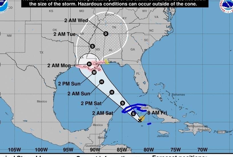 Huracán Ida va hacia EEUU tras pasar por Cuba