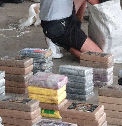 Incautan lote cocaína salió de Dominicana
