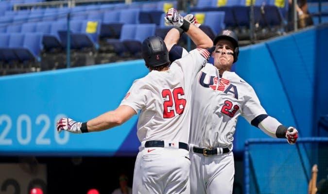 Juegos Olímpicos: EE.UU. vence a  Dominicana 3-1 en béisbol; pasa a semifinal