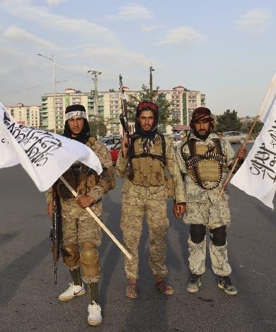 Talibanes disparan al aire para celebrar la salida EU