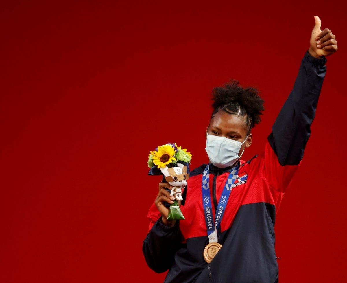 ¡Récord de medallas para RD! Crismery Santana aportó la número 10 de por vida