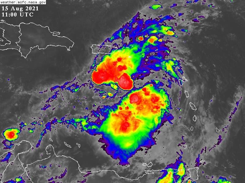 Tormenta tropical Grace se encuentra en aguas del Caribe
