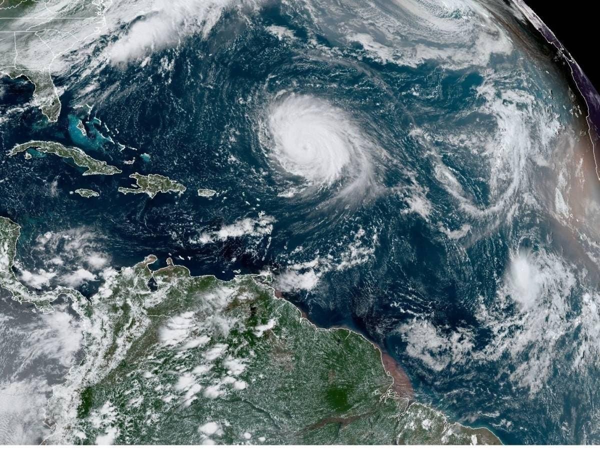 Clima; Se forma tormenta Odette