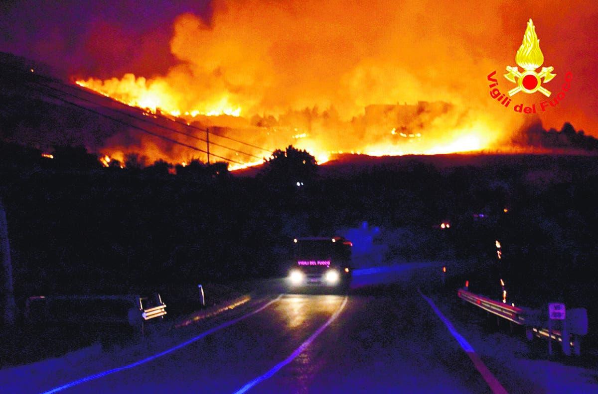 Ola de calor asfixia Europa y provoca incendios mortales