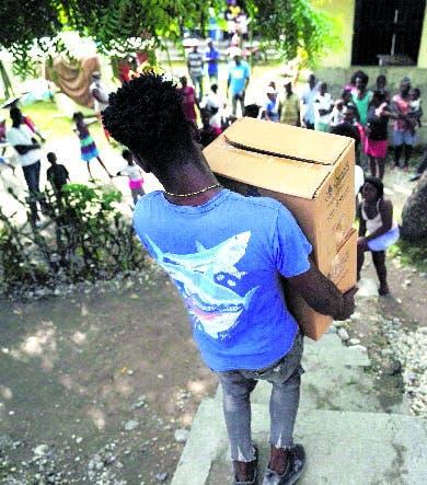 Haitianos claman por ayuda