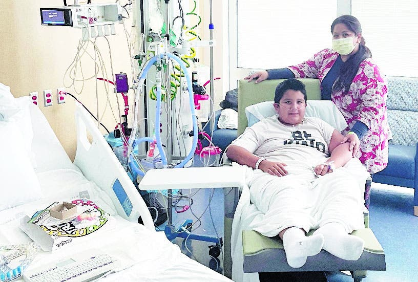 Récord niños EU llenan hospitales por variante delta