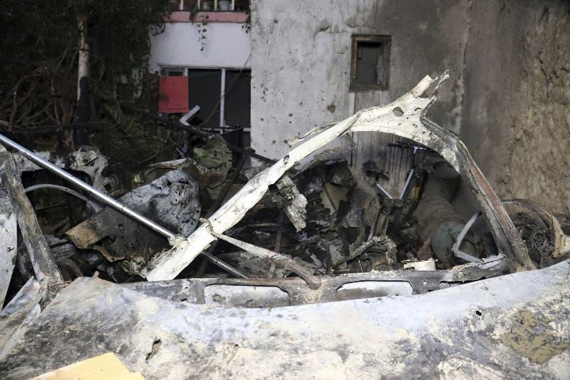 EEUU bombardea con dron vehículo Afganistán