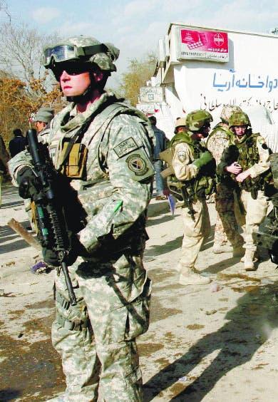 El Pentágono envía mil soldados más a Kabul