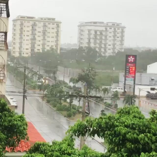 Tormenta Fred: fotos y videos de las lluvias en distintas partes de RD