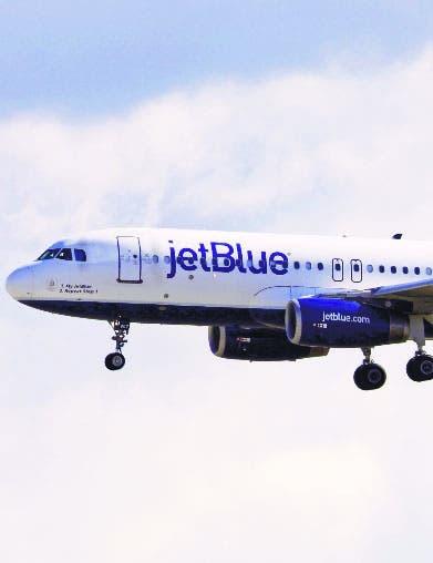 JetBlue llevó socorristas y cocineros EU a Haití