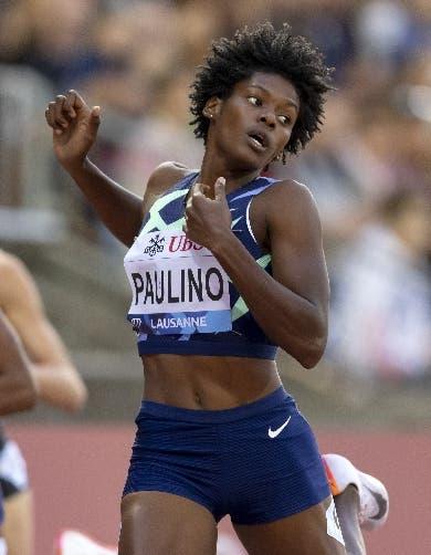 Marileidy Paulino gana segundo lugar en final de Liga Diamante