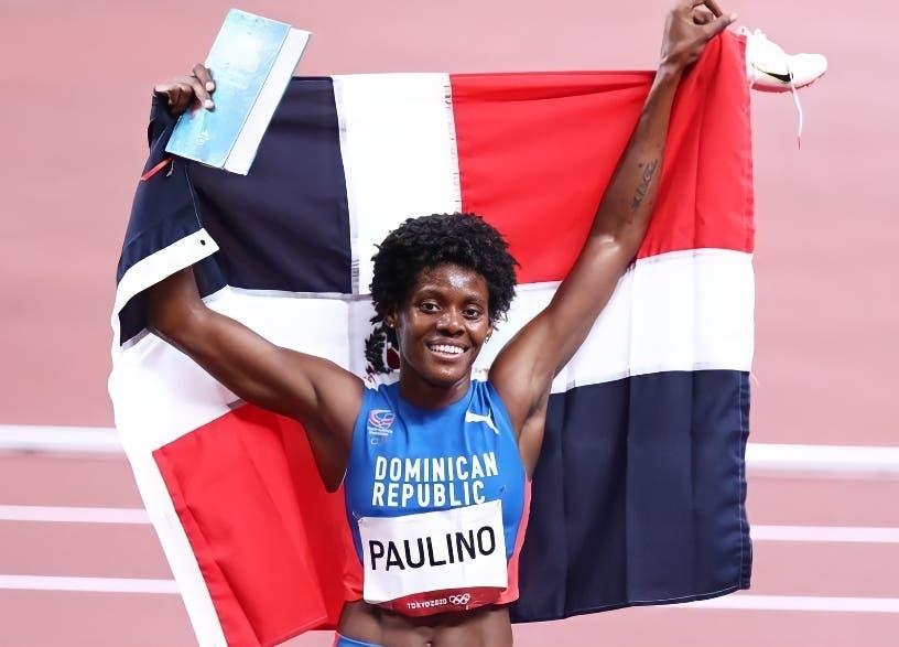 Marileidy Paulino corre hoy a la 1:04 de la tarde