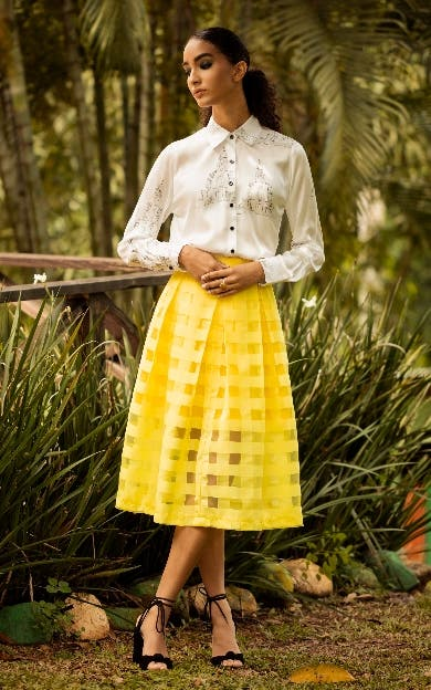Moda; Nina Vásquez muestra colección 'Raíces'