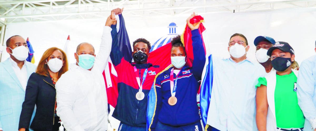 Llegaron medallistas
