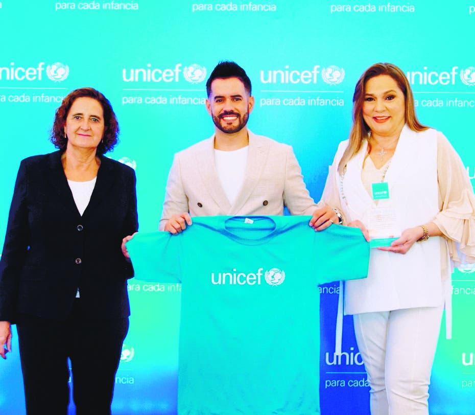 Manny Cruz, nuevo embajador honorífico de Unicef RD