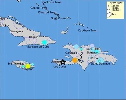 Vea aquí todos los detalles sobre el seísmo de 7,2 grados sacude Haití