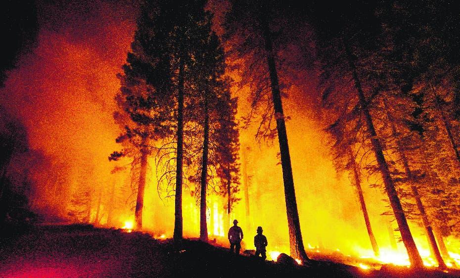 Incendio quema 99 mil hectáreas California