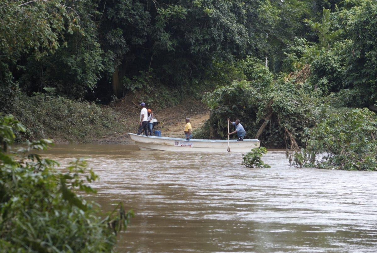 Decenas de personas aisladas en Rancho Arriba, La Victoria, SDN