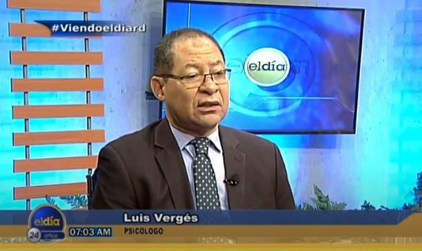 Entrevista a Luis Vergés en el programa El Día