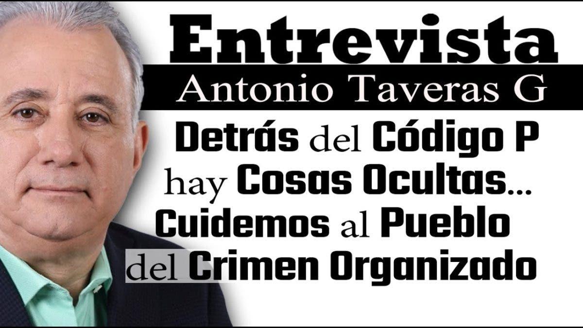 Entrevista a Antonio Taveras G. en el programa Telematutino 11