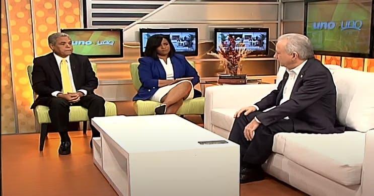 Entrevista a  Antonio Taveras en el programa Uno + Uno