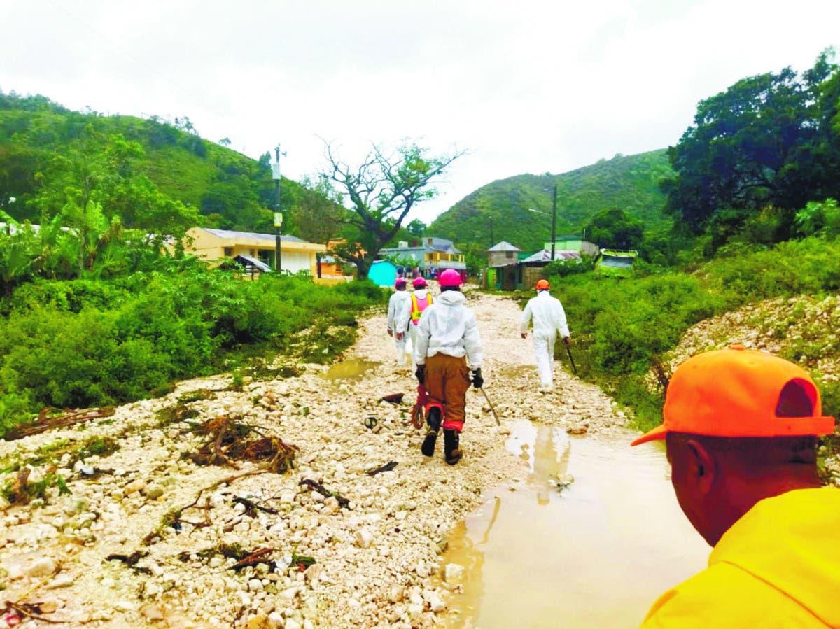Desplazados por Grace superaron las 2242 personas