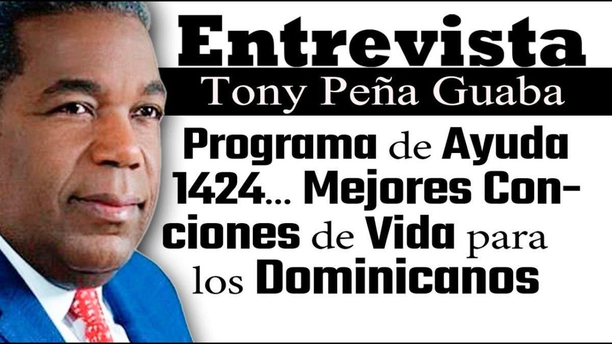 Entrevista a Tony Peña Guaba en el programa Telematutino 11