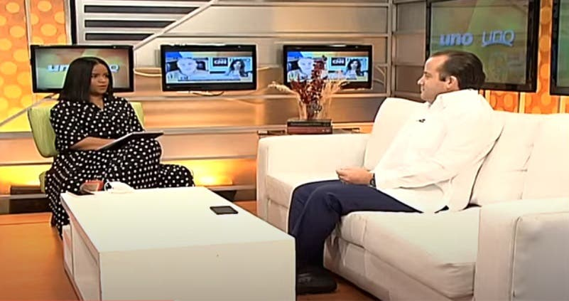 Entrevista a José Paliza en el programa Uno + Uno