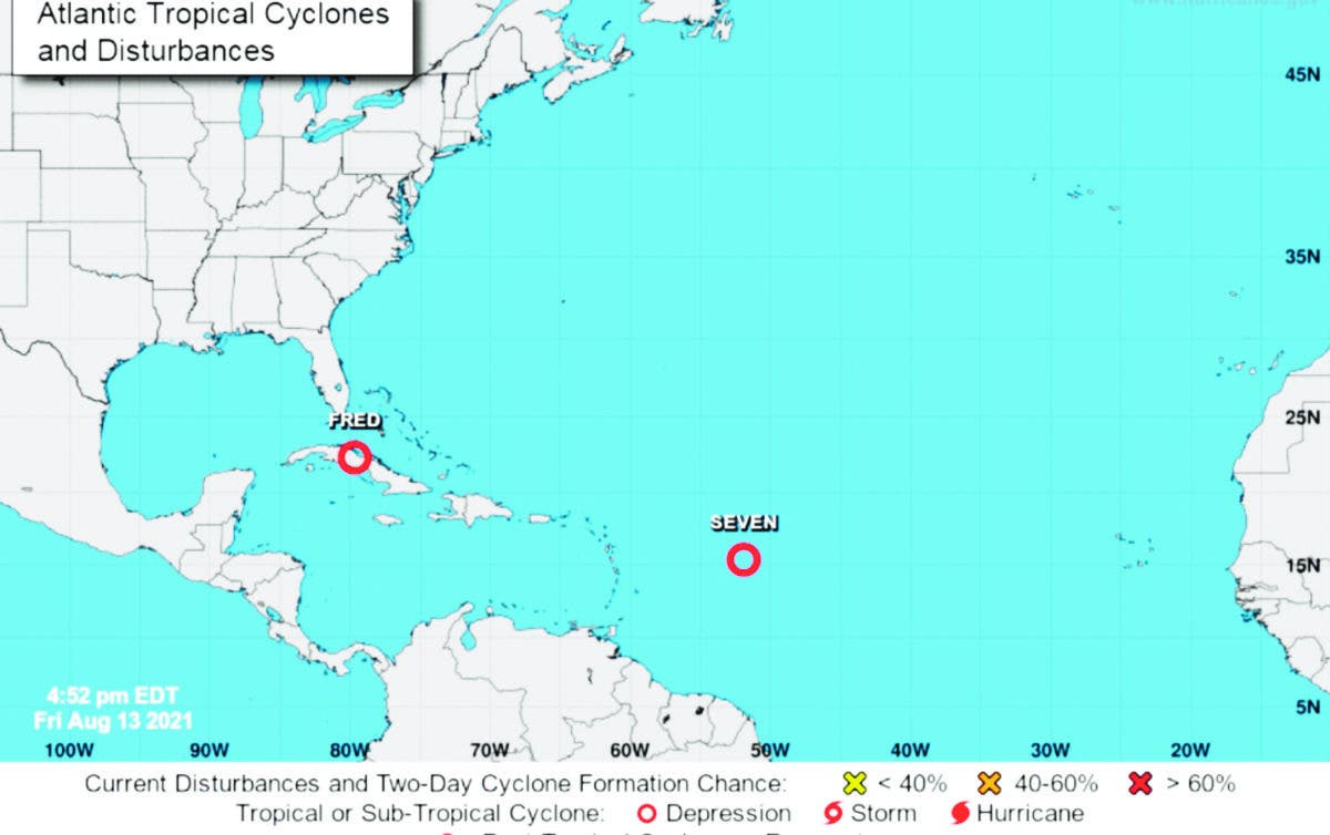 RD en alerta por posible paso ciclón tropical 7