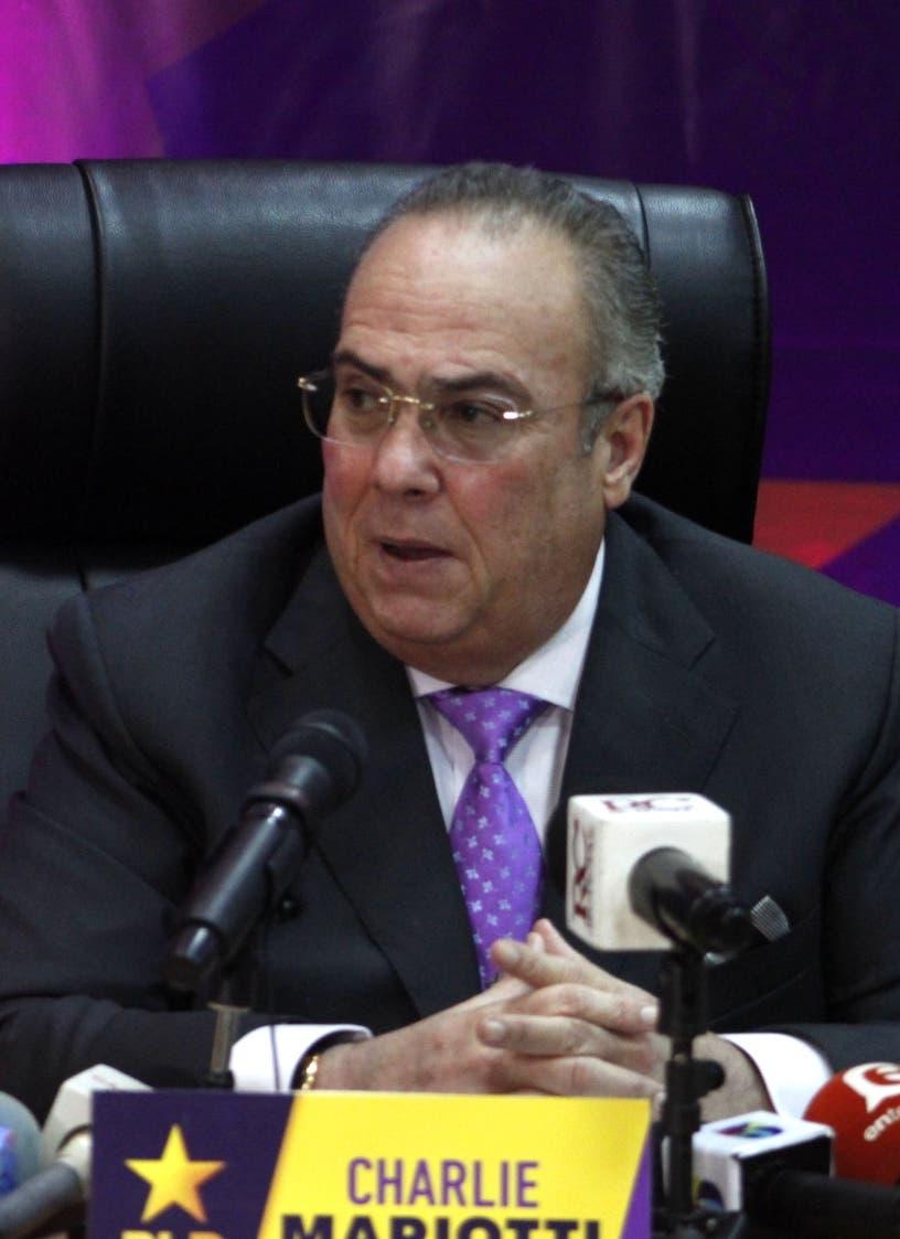 Mariotti acusa al PRM de ser el Gobierno más dañino para la economía familiar de RD
