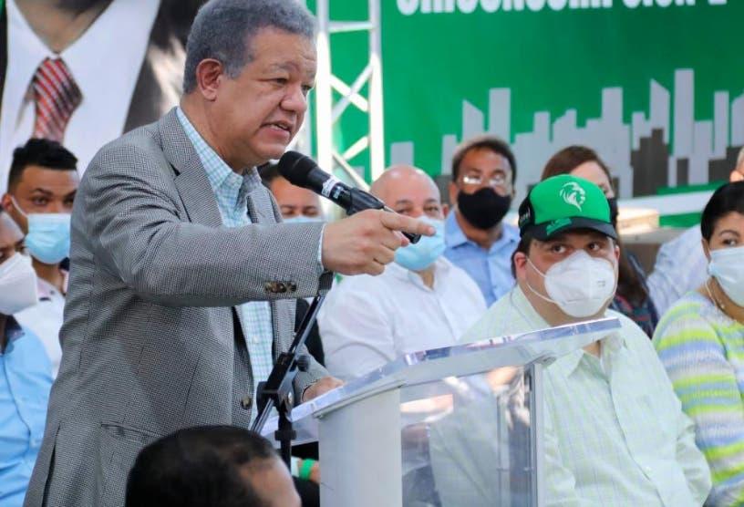 Leonel Fernández dice en todos los gobiernos habrá corruptos
