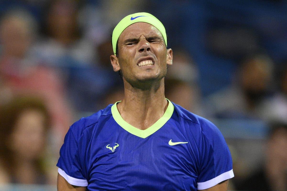 """Rafael Nadal pone fin a su temporada 2021: """"Necesito tomarme un tiempo»"""