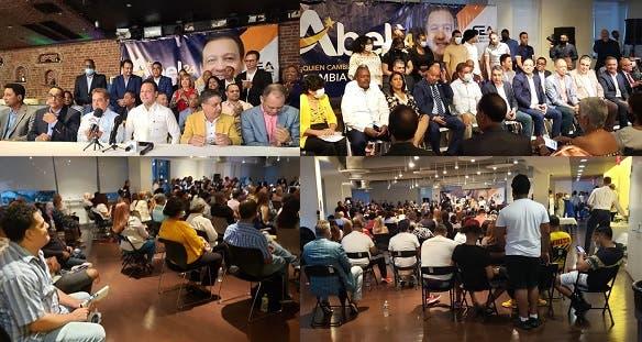 Abel Martínez en NY: Dominicanos cuentan con todo su respaldo; lo piquetean