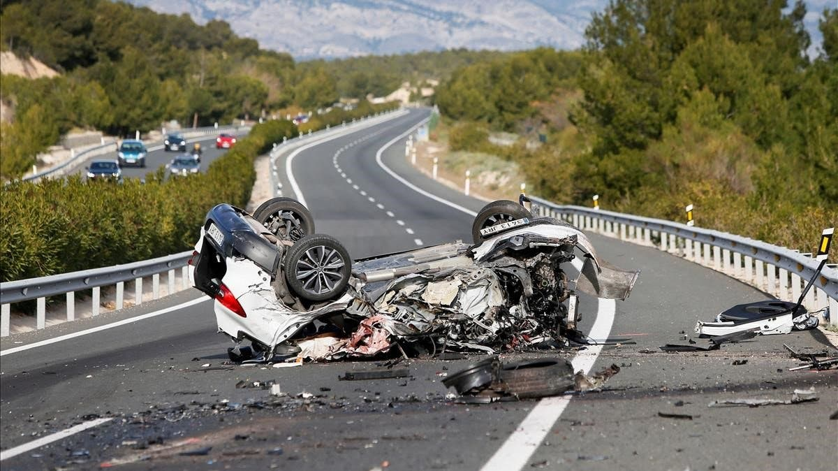 Fallecen dos personas en accidente de tránsito en Azua