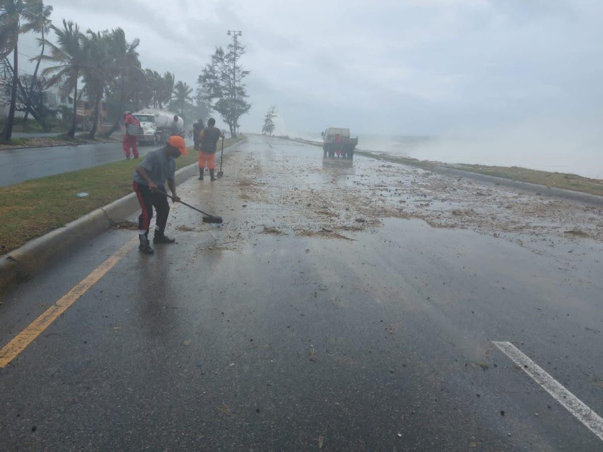 Por tormenta Fred, MOPC dispuso de más de 4 mil hombres para el Plan preventivo de Emergencia