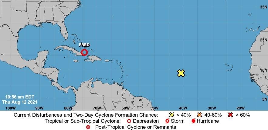 Vigilan otro fenómeno atmosférico se convertiría en ciclón tropical en próximas 48 horas