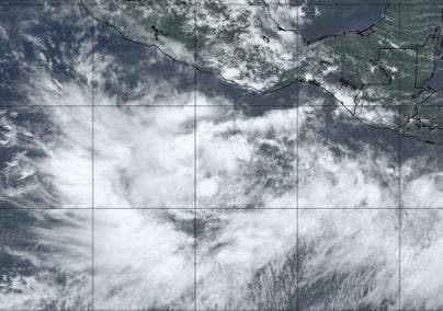 Depresión tropical se forma frente a costas de Guerrero en Pacífico mexicano