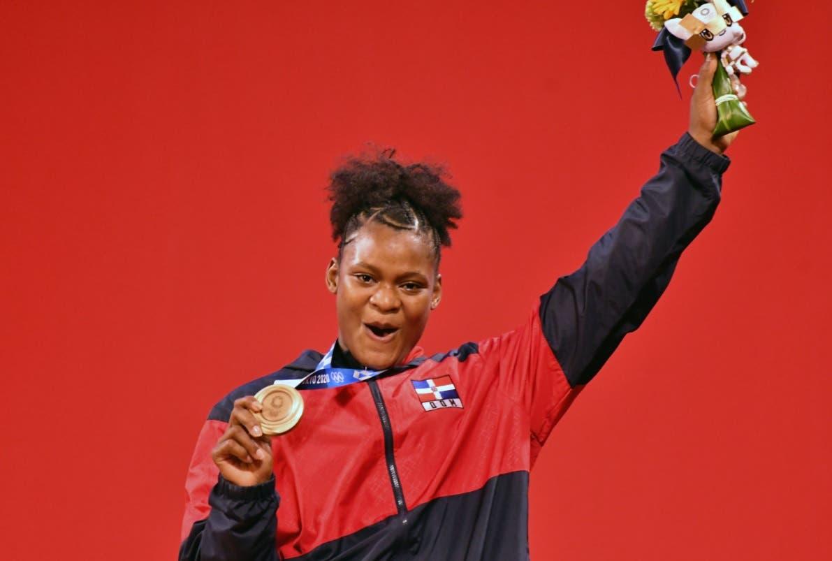 Dominicana Crismery Santana gana bronce en Tokio 2020