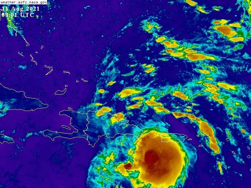 Centro de tormenta Fred impactaría región Este de la República Dominicana