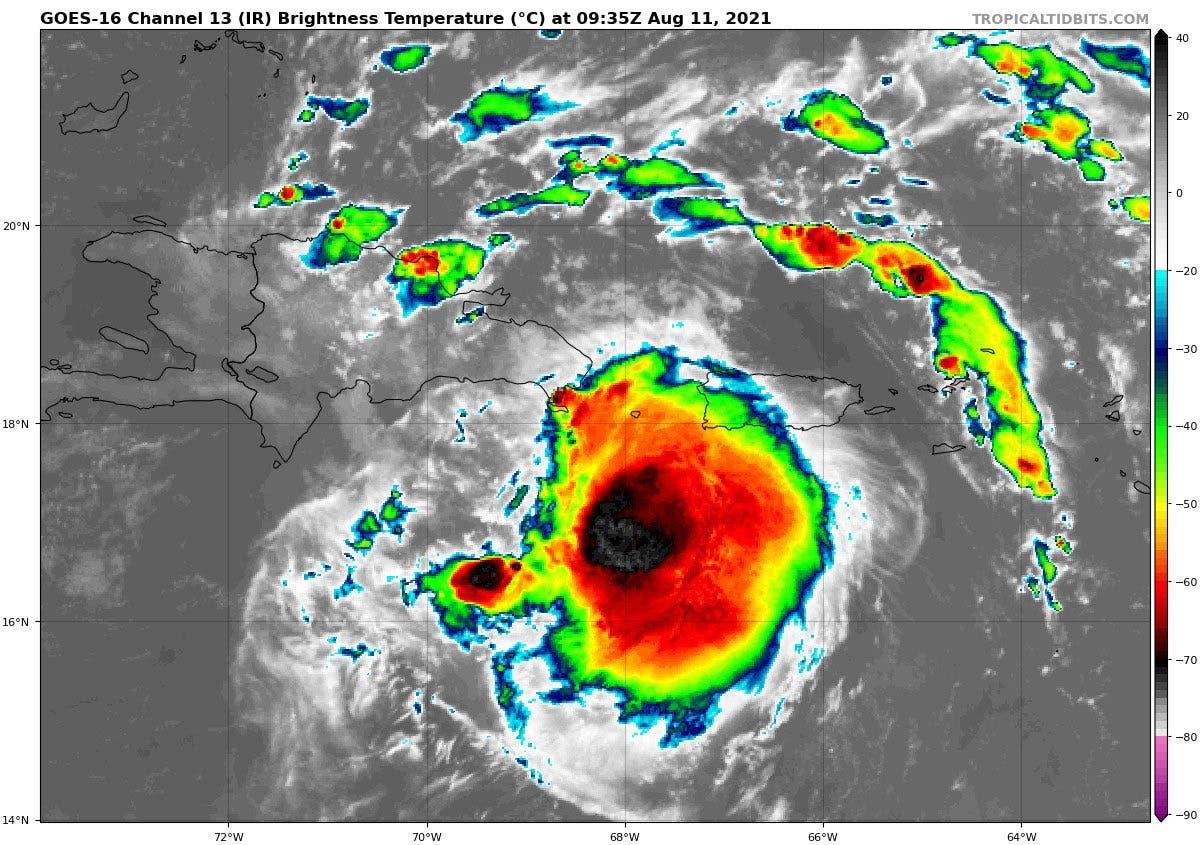 Elevan a 14 las provincias en alerta roja por tormenta Fred; se acerca a la Isla Saona