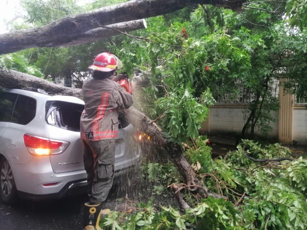 COE: 344 viviendas afectadas; tres niños y dos adultos rescatados por tormenta Fred