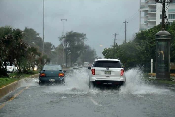 ¿Hasta cuándo seguirán las lluvias de la depresión tropical Fred?