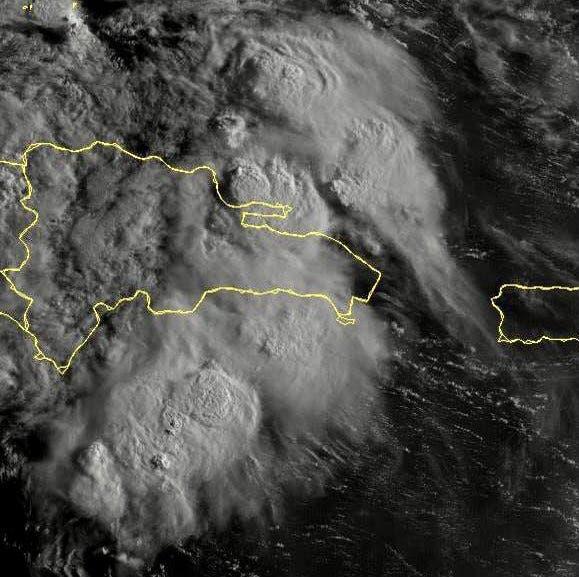 Las lluvias por depresión tropical continuarán en casi toda la República Dominicana