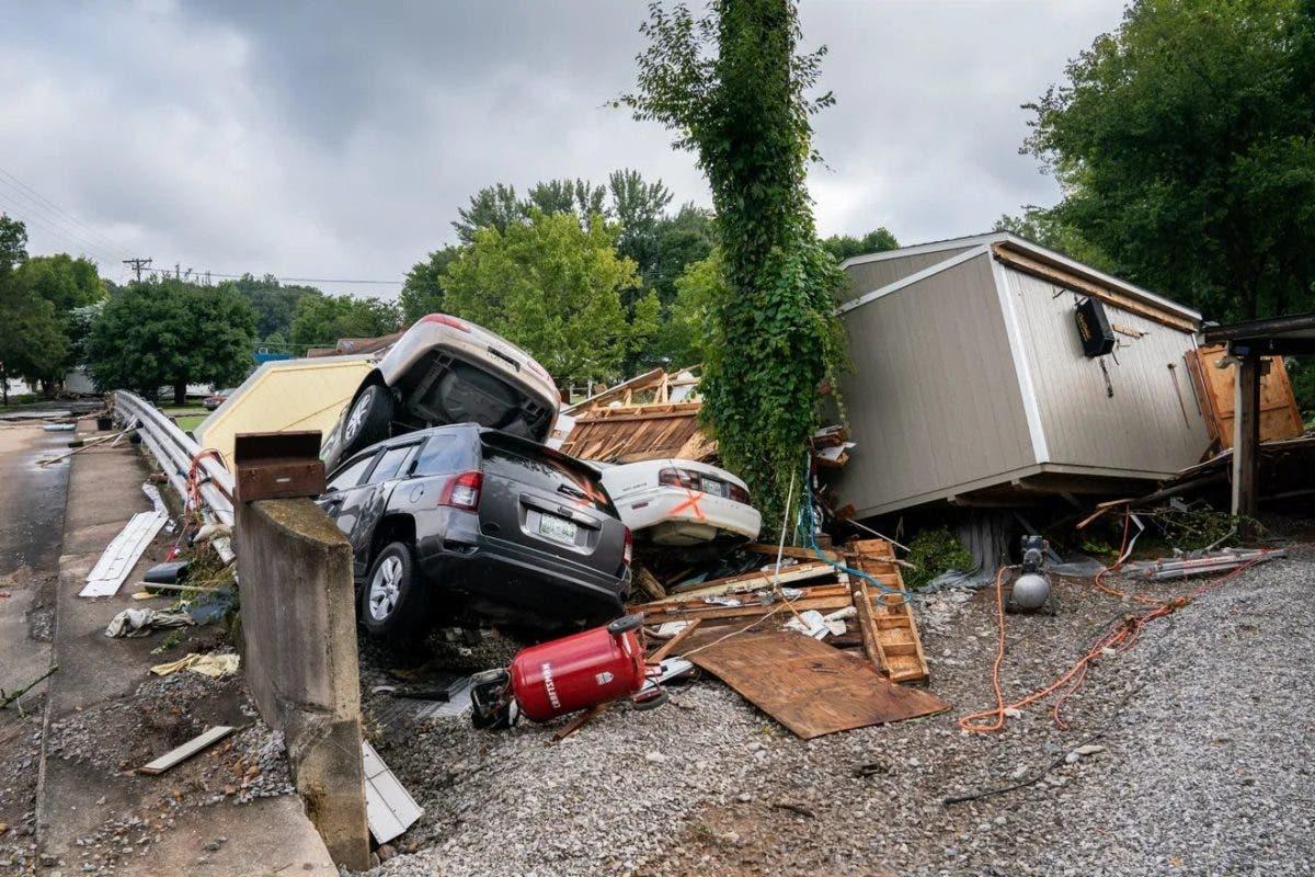 Al menos 16 muertos por inundaciones en el estado de Tennessee